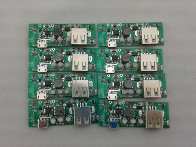 3LED指示灯 移动电源模组,移动电源控制板
