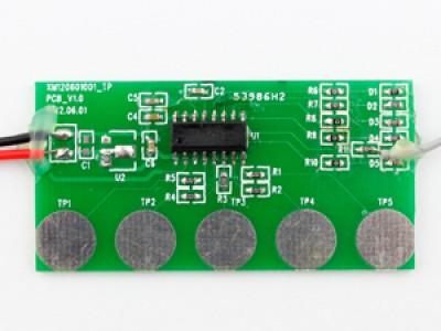 ADA05_5键触摸ic_电路板模组