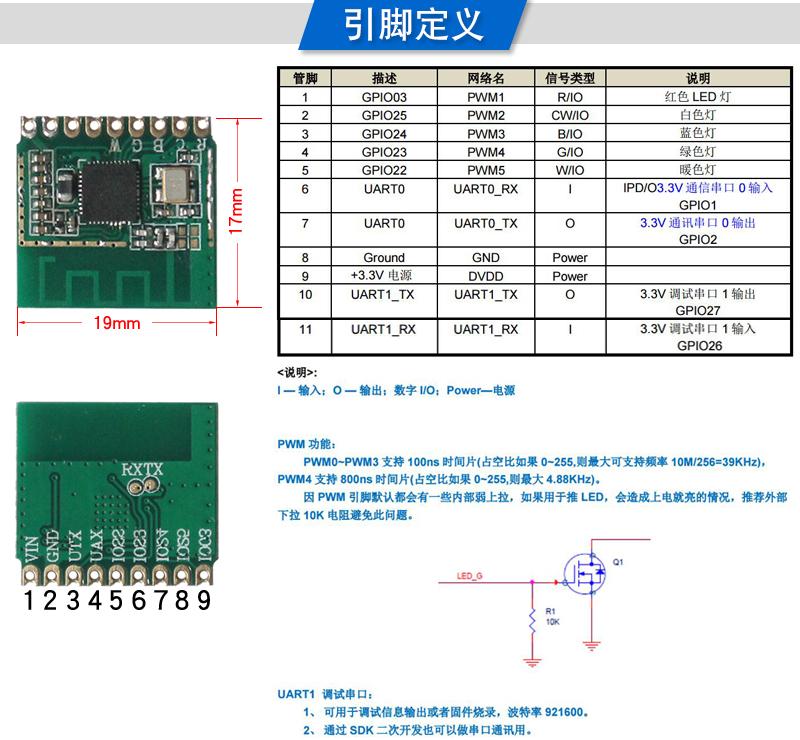 低功耗WIFI模块